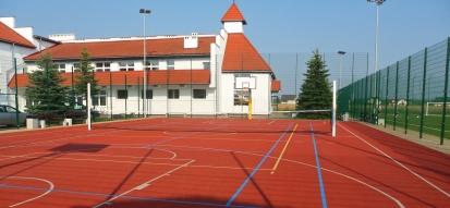 Kompleks boisk sportowych Orlik 2012 w Łubnianach